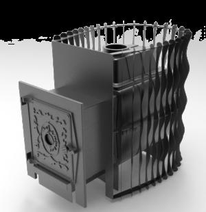 Банная печь Чугунка 16 Подкова