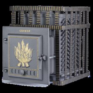 Чугунная печь для бани Гефест (ПБ-04С)