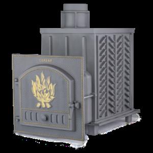 Чугунная печь для бани Гефест ЗК (ПБ-02-ЗК)