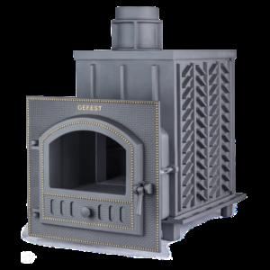 Чугунная печь для бани Гефест ЗК (ПБ-02М -ЗК)