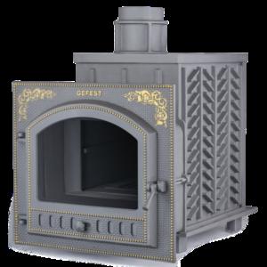 Чугунная печь для бани Гефест ЗК (ПБ-02П-ЗК)