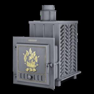 Чугунная печь для бани Гефест ЗК (ПБ-03-ЗК)