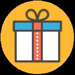 Выберете один подарок из списка: